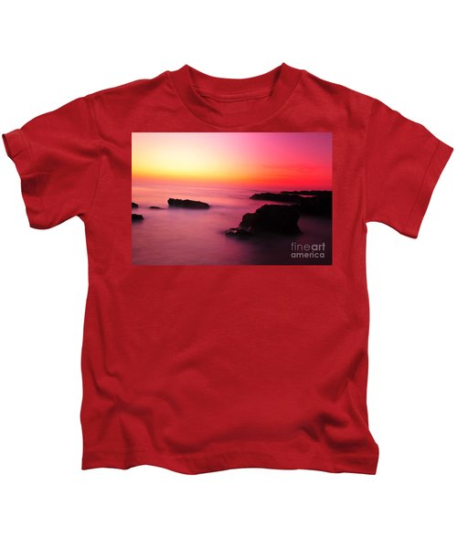 Fine Art - Pink Sky Kids T-Shirt
