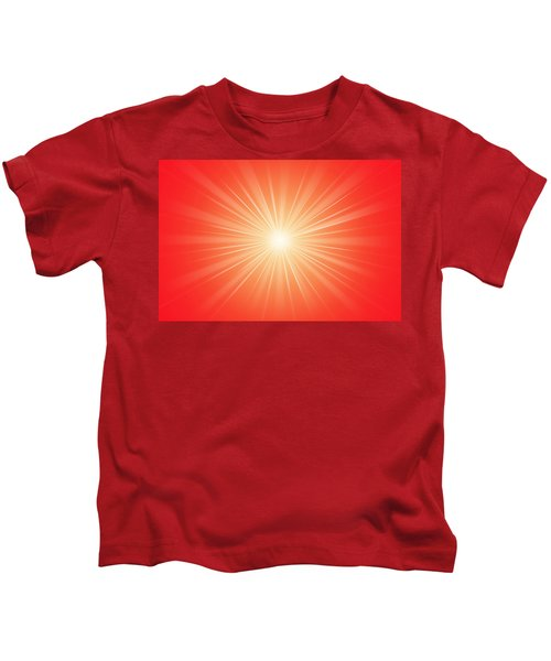 Focus For Meditation 2 Kids T-Shirt