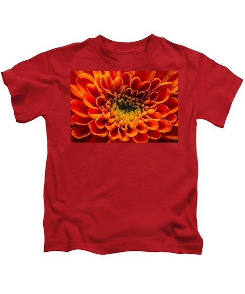 The Heart Of A Mum Kids T-Shirt