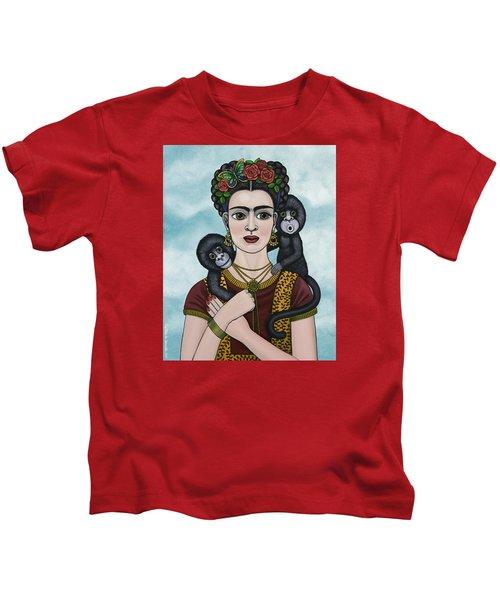 Frida In The Sky Kids T-Shirt
