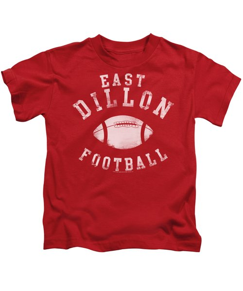 Friday Night Lts - East Dillon Football Kids T-Shirt