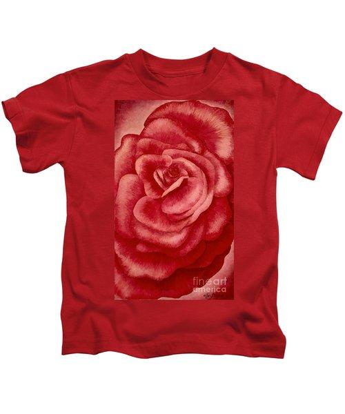 Garden Rose Kids T-Shirt