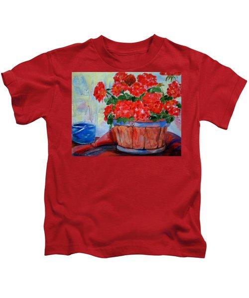 Geraniums Kids T-Shirt