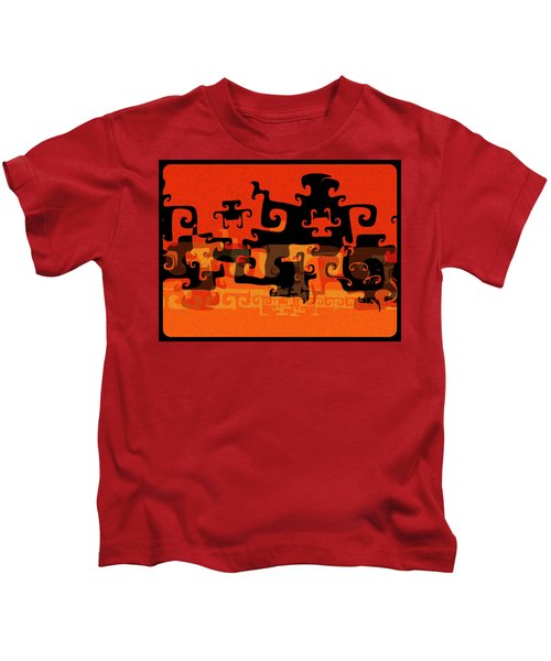 Gnarly Silhouette Parade Kids T-Shirt