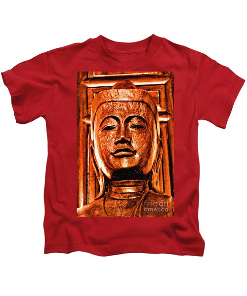 Head Of The Buddha Kids T-Shirt