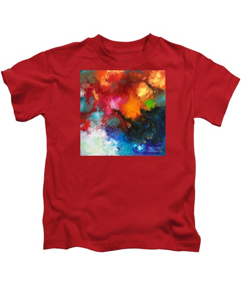 Holding The High Watch Canvas Three Kids T-Shirt