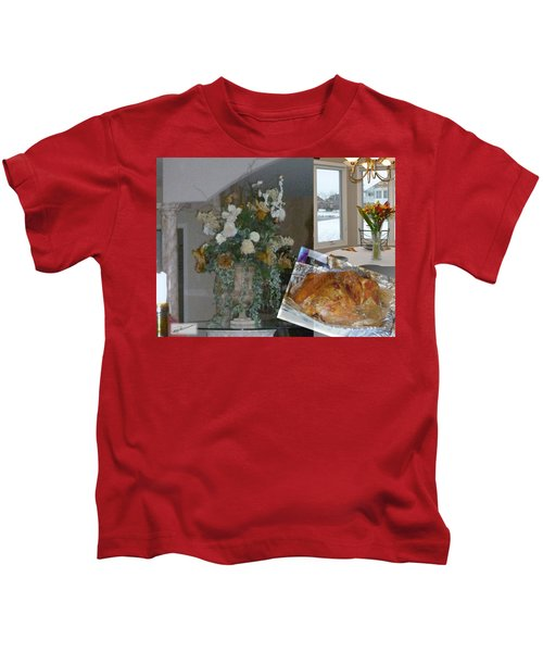 Holiday Collage Kids T-Shirt
