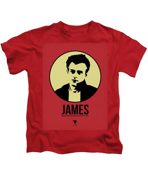 James Poster 2 Kids T-Shirt