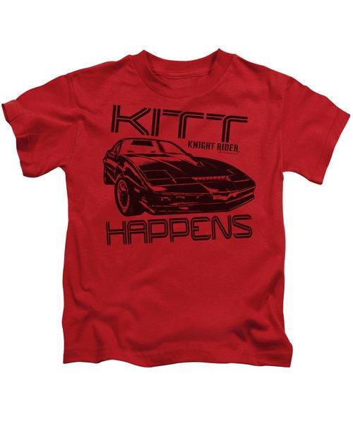 Knight Rider - Kitt Happens Kids T-Shirt