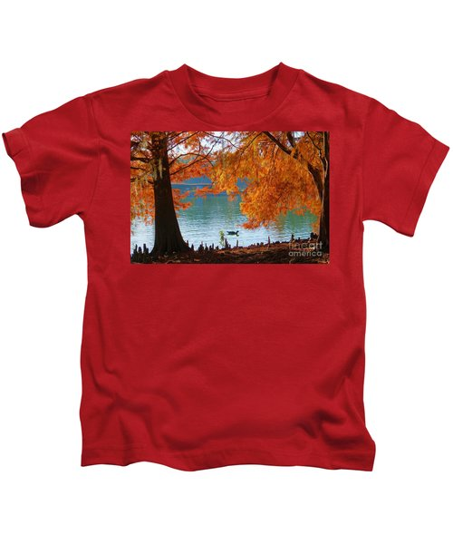 Lake Ella Morning Kids T-Shirt