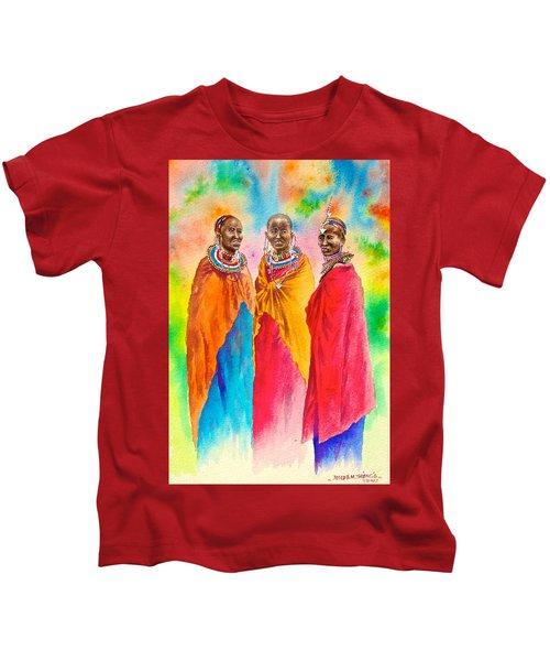 Maasai Life 14 Kids T-Shirt