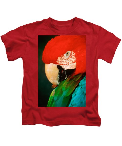 Macaw Portrait Kids T-Shirt