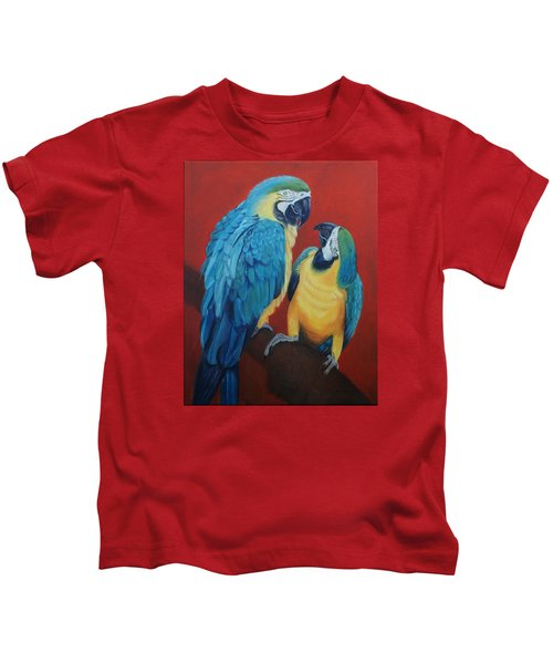 Macaws   Kids T-Shirt