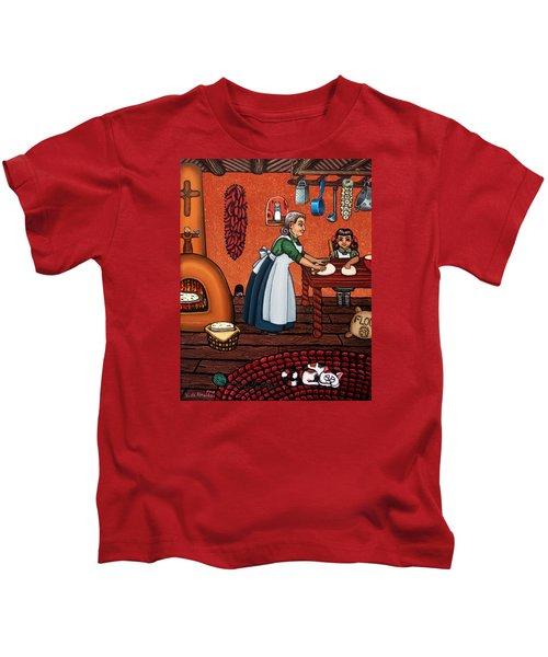 Making Tortillas Kids T-Shirt