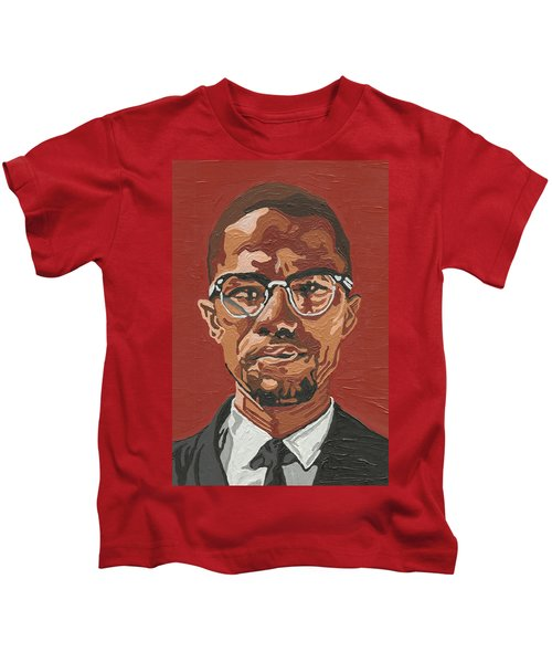 Malcolm X Kids T-Shirt