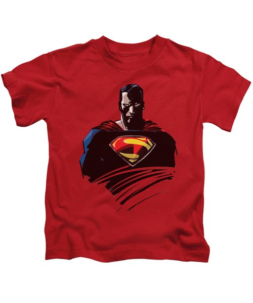 Man Of Steel - Bust Kids T-Shirt