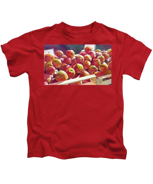 Market Apples Kids T-Shirt