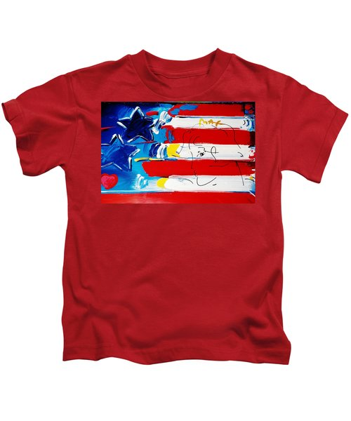 Max Stars And Stripes Kids T-Shirt