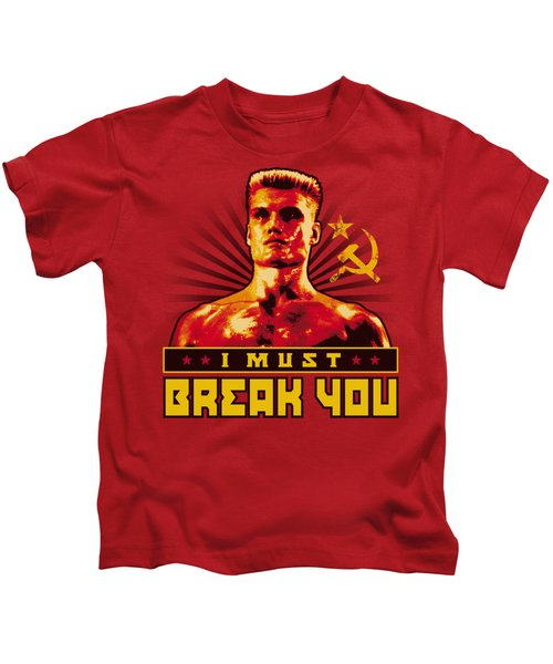 Mgm - Rocky - I Must Break You Kids T-Shirt