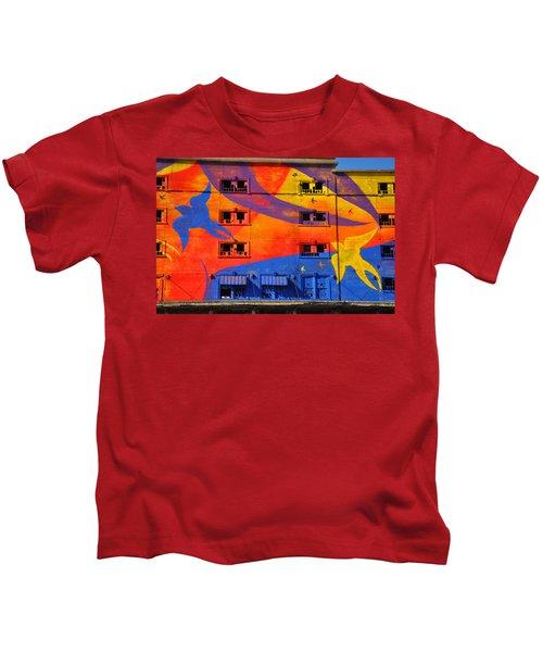 Migrate Detail 2 Kids T-Shirt