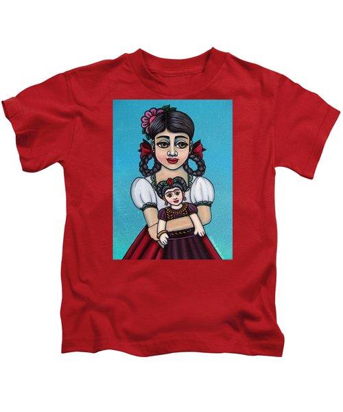 Missy Holding Frida Kids T-Shirt
