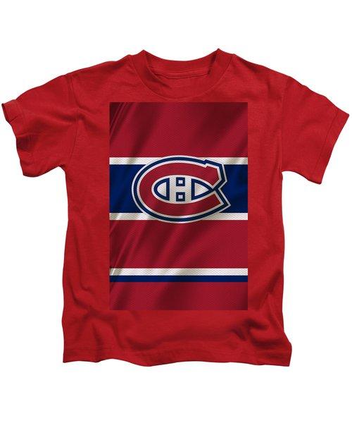Montreal Canadiens Uniform Kids T-Shirt