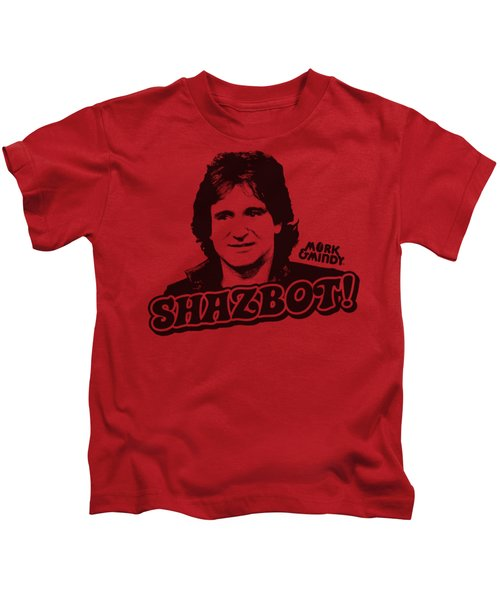 Mork And Mindy - Shazbot Kids T-Shirt