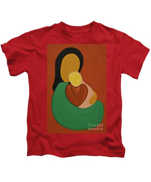 Mother And Daughter Kids T-Shirt