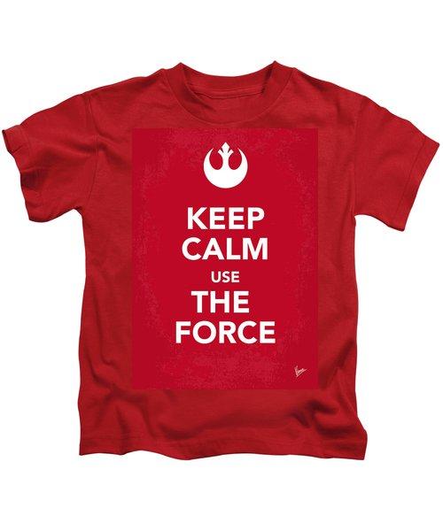 My Keep Calm Star Wars - Rebel Alliance-poster Kids T-Shirt