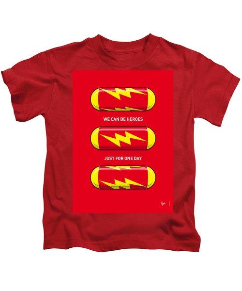 My Superhero Pills - The Flash Kids T-Shirt