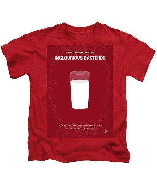 No138 My Inglourious Basterds Minimal Movie Poster Kids T-Shirt