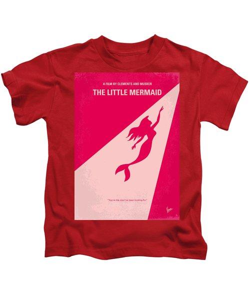 No314 My Mermaid Minimal Movie Poster Kids T-Shirt