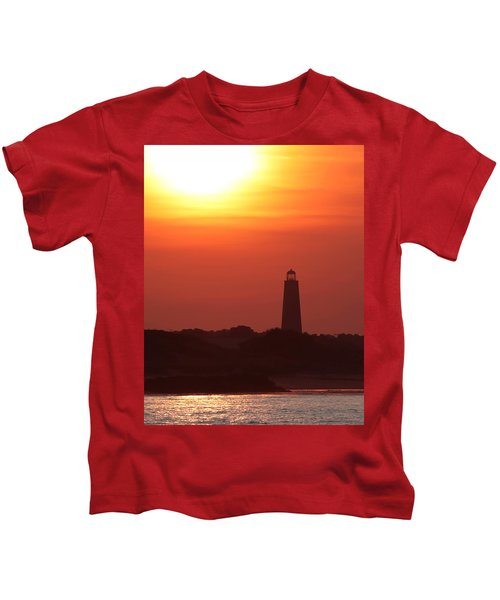 Old Cape Henry Lighthouse  Kids T-Shirt