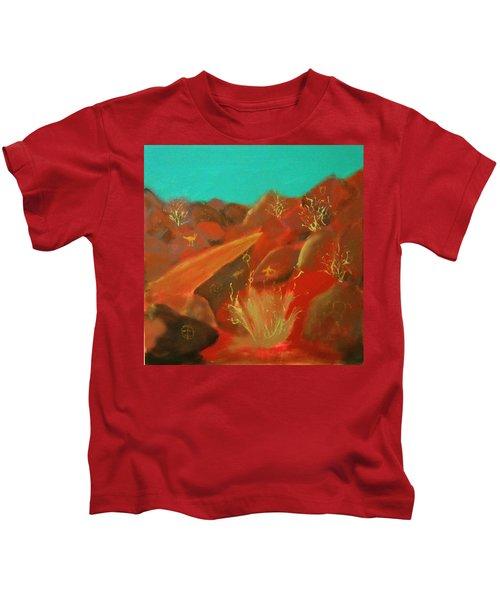 Petroglyph Park Kids T-Shirt