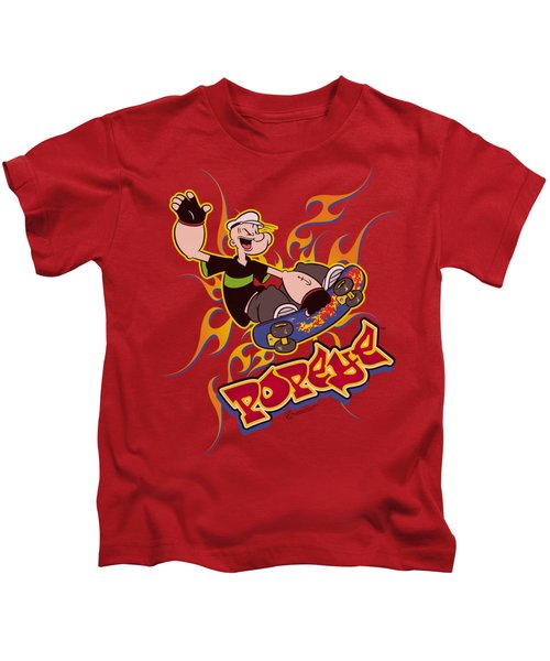 Popeye - Get Air Kids T-Shirt