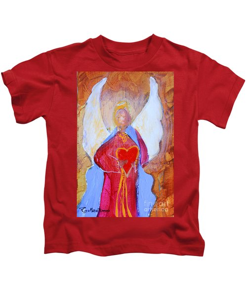 Precious Heart Angel Kids T-Shirt