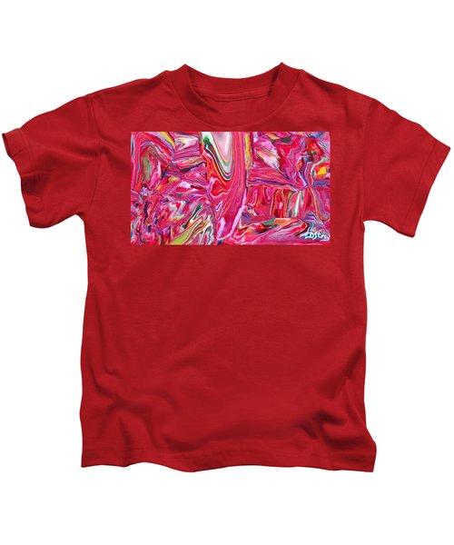 Pretty In Pink Kids T-Shirt
