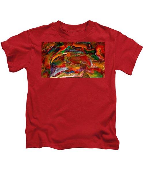 Rainbow Blossom Kids T-Shirt