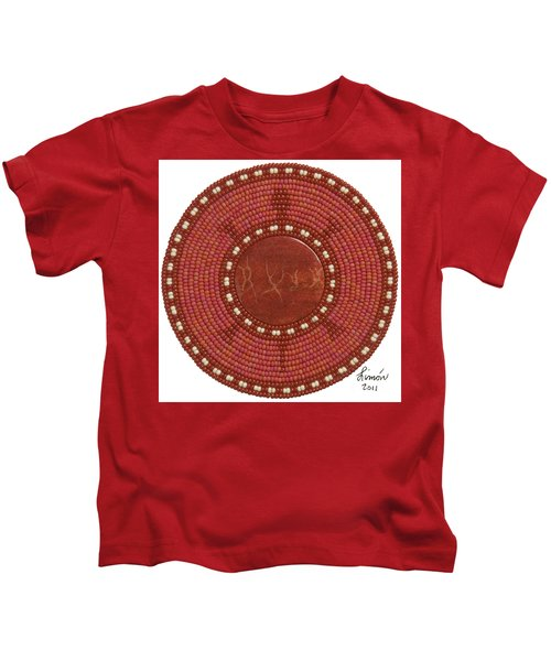 Red Coral Kids T-Shirt