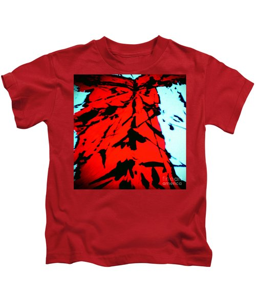 Red Owl Watching Over Me Kids T-Shirt
