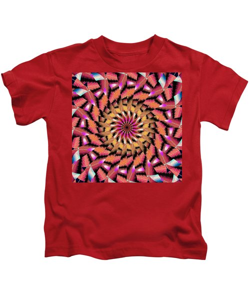 Rippled Source Kaleidoscope Kids T-Shirt