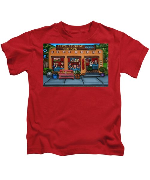 Santa Fe Restaurant Tyler Kids T-Shirt