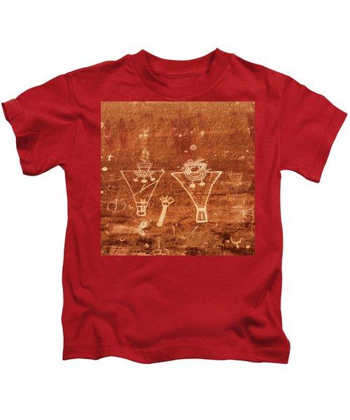 Sego Canyon Rock Art Kids T-Shirt