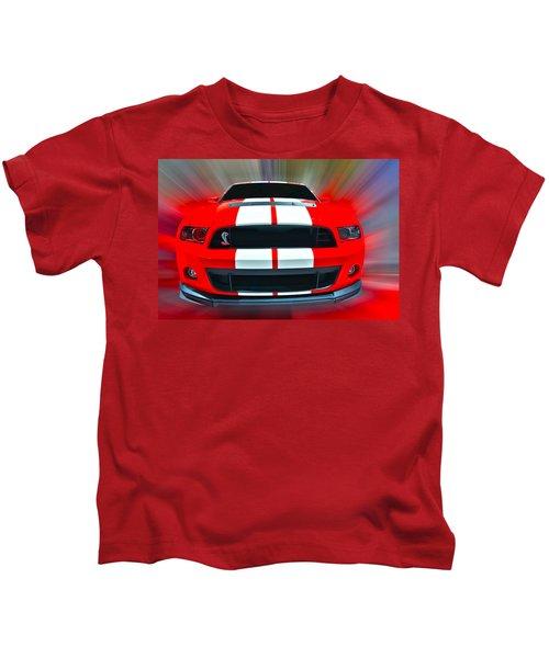 Shelby Gt 500  2013 Kids T-Shirt