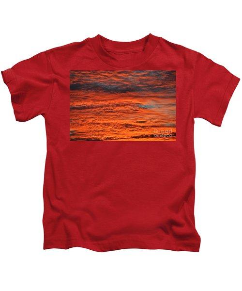 Sky Fire  Kids T-Shirt