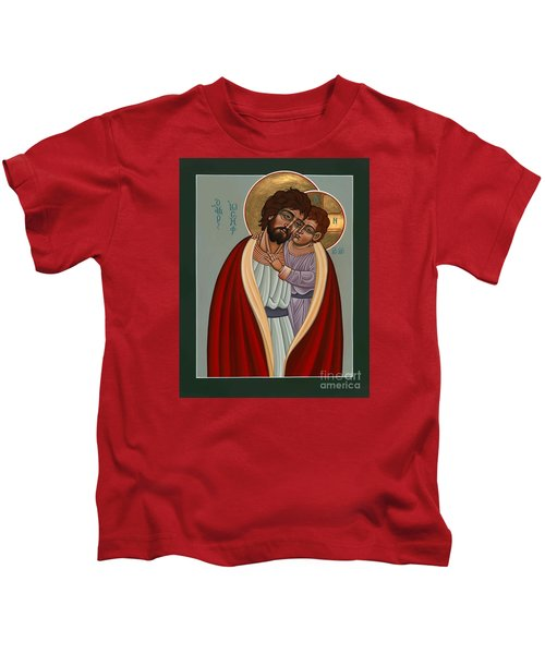 St. Joseph And The Holy Child 239 Kids T-Shirt