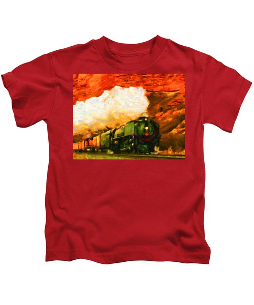 Steam And Sandstone Kids T-Shirt