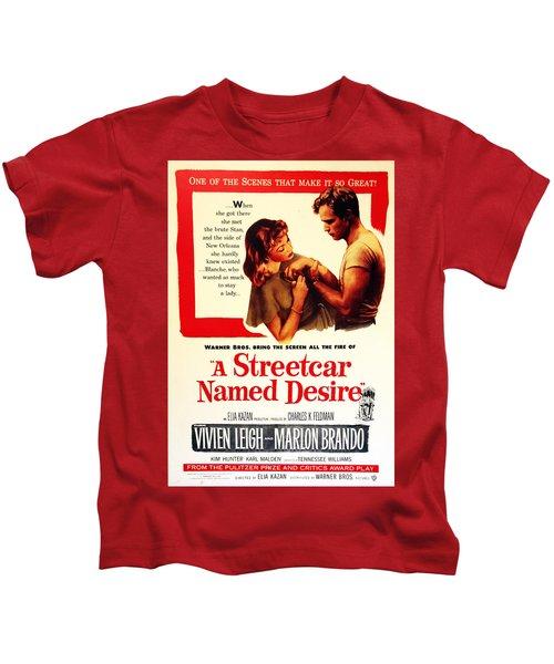 Stellaaaaa - A Streetcar Named Desire Kids T-Shirt