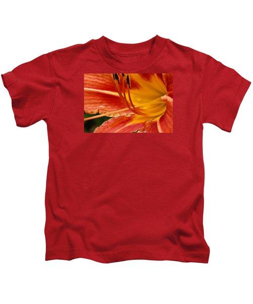 Summer Daylily Kids T-Shirt