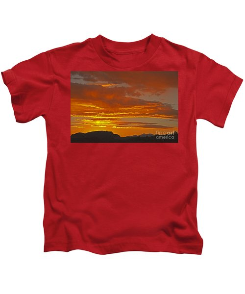 Sunrise Capitol Reef National Park Kids T-Shirt